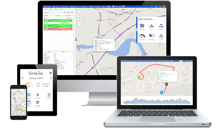 GPSLive Fleet: Fleet Management System Has Been Launched
