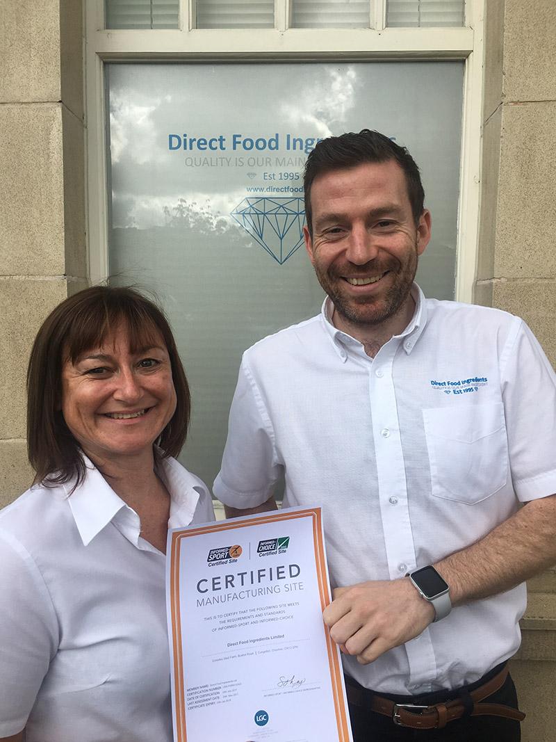 Direct food ingredients receives prestigious accreditation - Direct cuisine ...